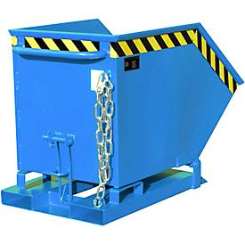Caja basculante KK 250, azul (RAL 5012)