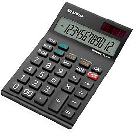 Calculadora de bolsillo Sharp EL-128CWH