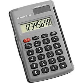 Calculatrice de poche KB-8808, 8 chiffres