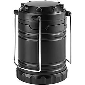 Campinglampe Metmaxx® OutdoorBuddyMini, helles COB Licht, dimmbar , 2 Tragehenkel, Tampondruck 30 x 25 mm