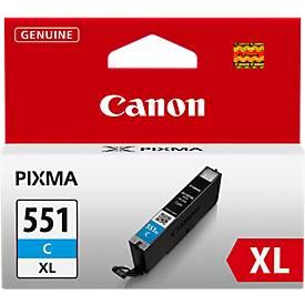 Canon Cartouche d'encre CLI-551 XL C, cyan