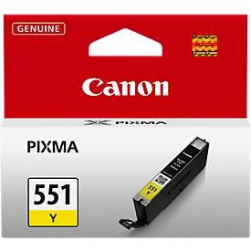 Canon Tintenpatrone CLI-551 Y gelb