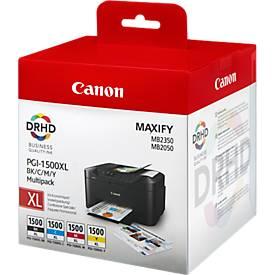 Canon Tintenpatronen PGI-1500XL BK/C/M/Y, 4 Stück