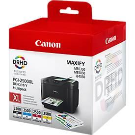 Canon Tintenpatronen PGI-2500XL BK/C/M/Y, 4 Stück