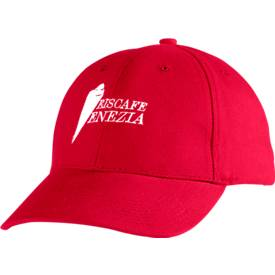 Cap, mit Klettverschluss, inkl. individuellem Logostick & allen Grundkosten, rot