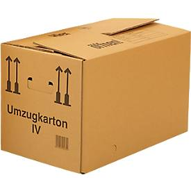 Cartons de déménagement, double cannelures, 25 pièces