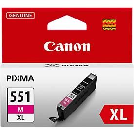 Cartouches d'encre Canon CLI-551 XL M magenta