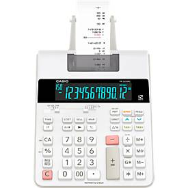 CASIO® bureaurekenmachine met printer FR-2650RC, 12 cijfers, 4 geheugentoesten