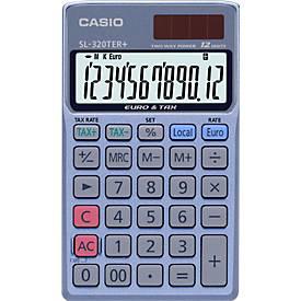 Casio bureaurekenmachine SL-320TER+, 12 cijfers