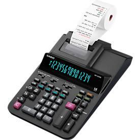 CASIO DR-320 RE rekenmachine met telrol, 14 cijfers, zwart/rood druk