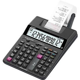 Casio Druckender Tischrechner HR-150RCE, 12-stelliges LC-Display, Papierbreite 58 mm