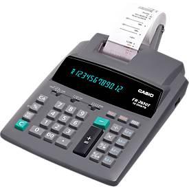 Casio Tischrechner FR-2650T, 12-stellig