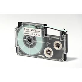 CASIO®  cassette de ruban XR, différentes dimensions et couleurs, pièce