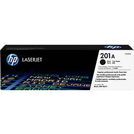 Cassette d'impression HP 201A Color LaserJet CF400A, noir