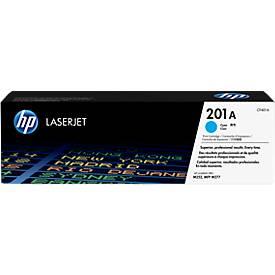 Cassette d'impression HP 201A Color LaserJet CF401A, cyan