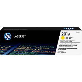 Cassette d'impression HP 201A Color LaserJet CF402A, jaune