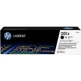 Cassette d'impression HP 201X Color LaserJet CF400X, noir