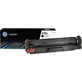 Cassette d'impression HP 410A Color LaserJet CF410A, noir