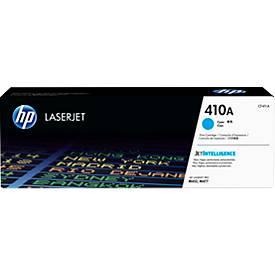 Cassette d'impression HP 410A Color LaserJet CF411A, cyan