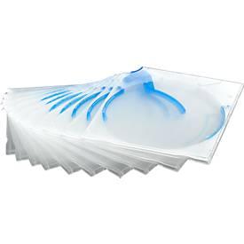 CD/DVD-Box QUICKFLIP, 10 Stück