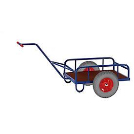 Chariot à bras, avec ou sans ridellle, 835 x 535 mm