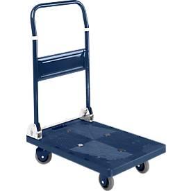 Chariot à dossier rabattable. Capacité 150 à 300 kg