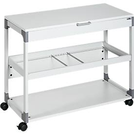 Chariot à dossiers suspendus System File Trolley 200 Multi Duo Top