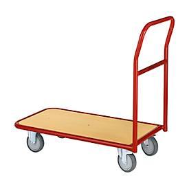 chariot à plateau