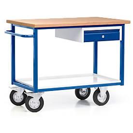 Chariot établi Profi, avec tiroir