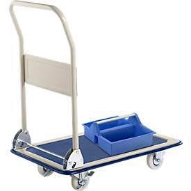Chariot de transport + boîte à outils gratuite
