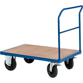Chariot modulaire à dossier enfichable. Capacité 500 kg