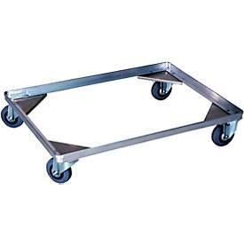 Châssis à roulettes de type 2, pour caisse de transport