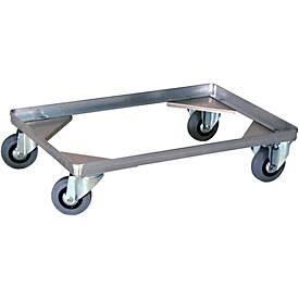 Châssis à roulettes de type 4, pour caisse de transport
