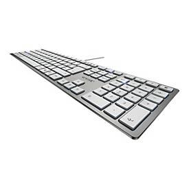 CHERRY KC 6000 SLIM - Tastatur - Großbritannien - Silber
