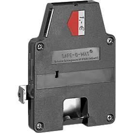 Clé principale pour système central de verrouillage de casiers, gamme de casiers et vestiaires