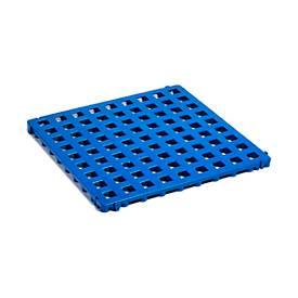 Clippy Kunststoffbodenrost, blau