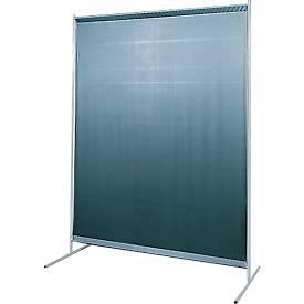 Cloison de protection pour soudure avec rideau en film tendu
