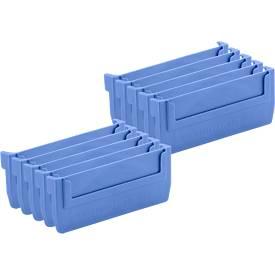 Cloison pour boîtes d'étagère RK 500, 10 pièces