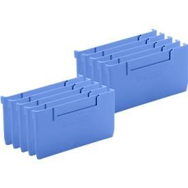 Cloison pour boîtes d'étagères RK 421 B/521 B/621 B, 10 pièces