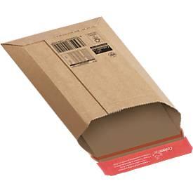 Colompac Pochettes d'expéditions robustes en carton ondulé, paquet de 20