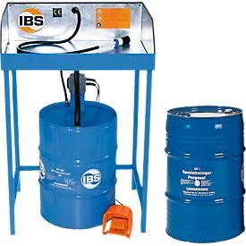 Combinatie onderdelenreiniger type BK en speciaal reinigingsmiddel