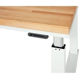 Comfortabel bedieningselement voor werktafels uit de series adlatus 300 en 600, met digitaal display