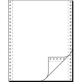 Computer Endlospapier, 2-fach blanko, 1000 Stück