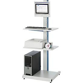 Computer-Ständer Typ 6018, B 650 x T 650 x H 1850 mm, stationär
