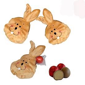 Confiserie Rabbel Osterpräsent Hasenköpfchen, ohne Alkohol, Inhalt 12,5 g