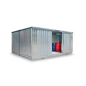 Container-combinatie SAFE TANK 4000, voor passieve opslag