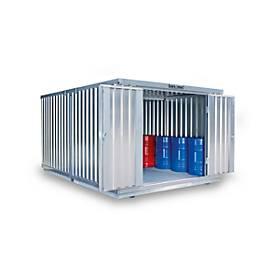 Container-Kombination SAFE TANK 2000, für passive Lagerung