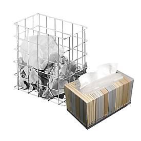 Corbeille petit modèle + boîte d'essuie-mains KLEENEX® Ultra Soft GRATUITE