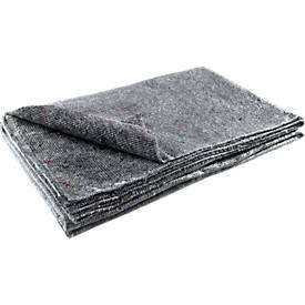 Couvertures d'emballage ou de protection, 150 x 200 et 100 x 250 cm