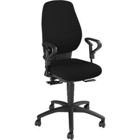 Dauphin Bürostuhl SHAPE 8370, o. Armlehnen, hohe Rückenlehne, Synchro-Active-Balance